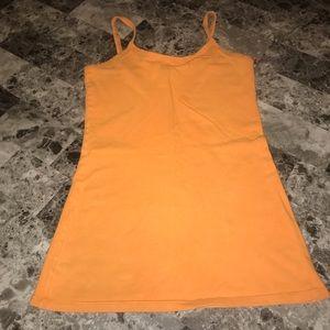 BKE Orange Tank Top